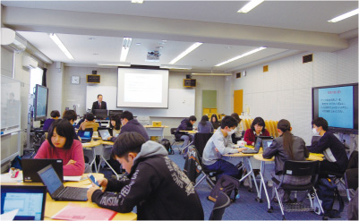 県立広島大学『CaLabo LX』は、活用するほどアクティブ・ラーニングへの効果が実感できる