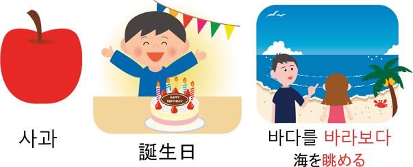 フラッシュ韓国語 初級600 画面イメージ