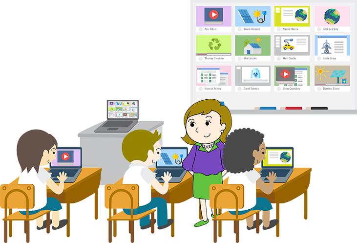 個別学習で定着!チエルの検定式デジタル教材。学習者は、自分のペースで基礎・基本の確認ができます。