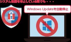 Windows Update自動更新の停止